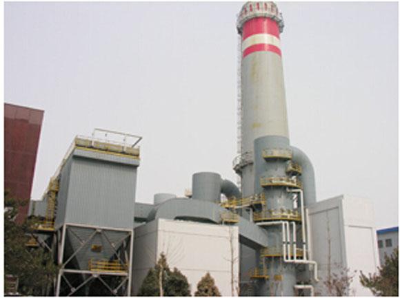工业锅炉烟尘处理设备图