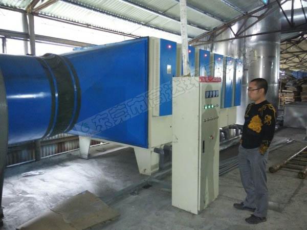 志高空调铜管铸造分厂废气治理工程