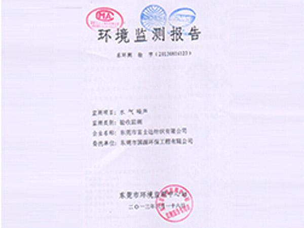 环境监测报告