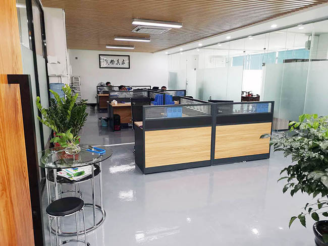 高达环保公司工程部办公区