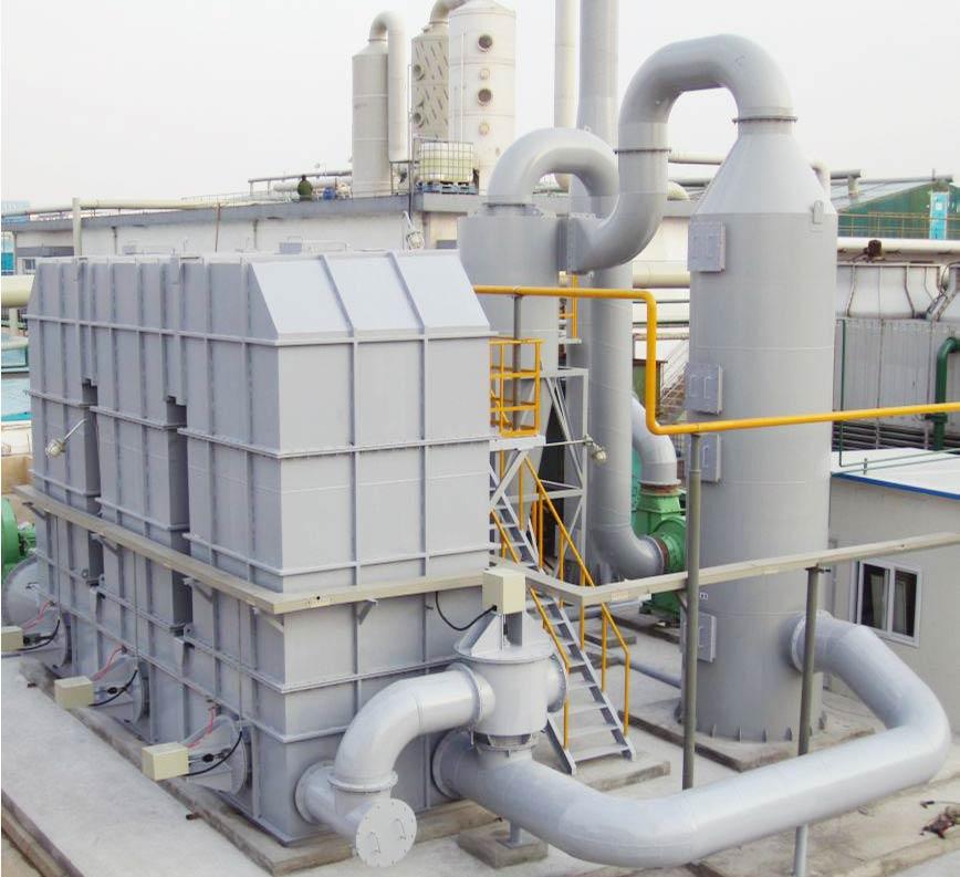三床式蓄热式焚烧炉废气处理设备