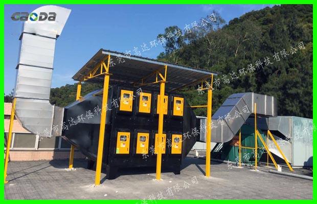 福建达利园包装部35000m3/h印刷废气处理工程